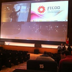 Photo taken at FICOD 2011 by Alberto T. on 11/24/2011