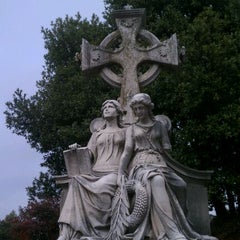 Photo taken at Oakland Cemetery by Paul J. on 1/1/2012