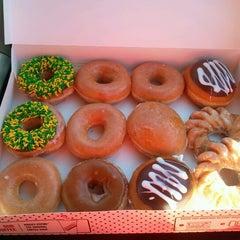 Photo taken at Krispy Kreme Doughnuts by Kristy on 9/9/2012