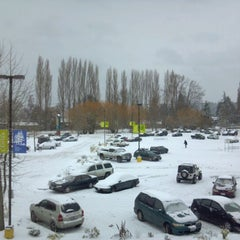 Photo taken at Town Center at Lake Forest Park by Aaron S. on 1/19/2012