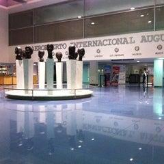 Photo taken at Aeropuerto Internacional Augusto C. Sandino by Mario D. on 12/8/2011
