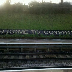 Photo taken at Coventry Railway Station (COV) by Chun on 12/9/2011