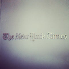 Photo taken at New York Times Building by Erin G. on 5/11/2012