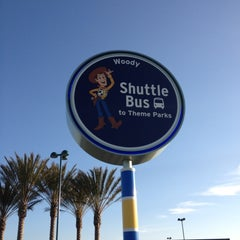 Photo taken at Toy Story Parking Lot by Steven B. on 3/21/2012