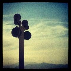 Photo taken at Metaphor: The Tree Of Utah by Zac R. on 9/9/2012