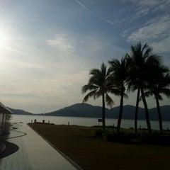 Photo taken at Marina Island Jetty Complex by mamir on 1/31/2012