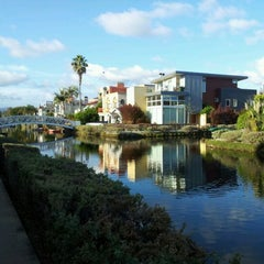 Photo taken at Venice Canals by Karen C. on 11/19/2011