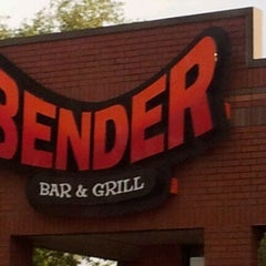 Photo taken at Bender Bar & Grill by Charles ادوارد L. on 3/29/2012