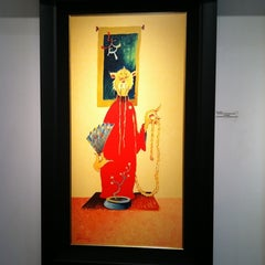 Photo taken at The Art of Dr. Seuss by karen H. on 9/19/2011