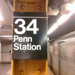 Photo taken at MTA Subway - 34th St/Penn Station (A/C/E) by Ryan N. on 2/6/2011