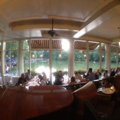 Photo taken at The Loeb Boathouse in Central Park by Jorge G. on 7/1/2012