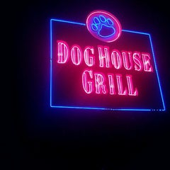 Photo taken at Dog House Grill by Yvonne M. on 1/30/2012