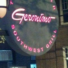 Photo taken at Geronimo Southwest Grill by Jme L. on 9/18/2011