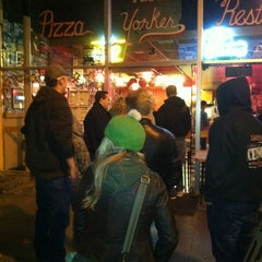 Photo taken at New Yorker Pizza & Restaurant by Galen H. on 3/18/2012