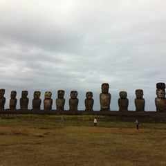 Photo taken at Isla de Pascua | Rapa Nui by Bobby B. on 4/1/2012