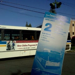 Photo taken at the bee-line system Bus Stop - Park Av & High St (2) by Trevor L. on 9/16/2011