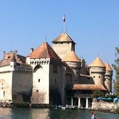 Photo taken at Château de Chillon by Jean-philippe F. on 9/8/2012