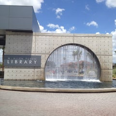 Photo taken at McAllen Public Library by Elias V. on 8/19/2012
