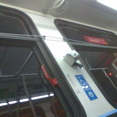Photo taken at #65 CTA Grand Ave. by Phillip Z. on 10/16/2011