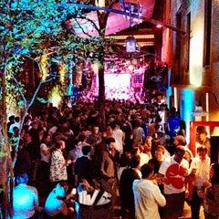 Photo taken at Cedar Street Courtyard by Sue H. on 3/12/2012