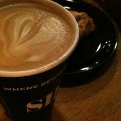 Photo taken at SPoT Coffee Elmwood Cafe by Derek H. on 1/4/2011