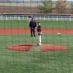 Photo taken at Lenz Field by Joel B. on 3/31/2012