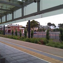 Photo taken at Entertainment Centre Tram Stop by Willem G. on 12/16/2011