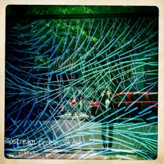 Photo taken at Bridge Gallery by daniel m. on 8/17/2012