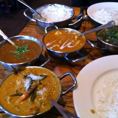 Photo taken at Brick Lane Curry House by Chris T. on 12/30/2011