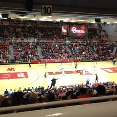 Photo taken at Carnesecca Arena by Rose A. on 11/13/2011