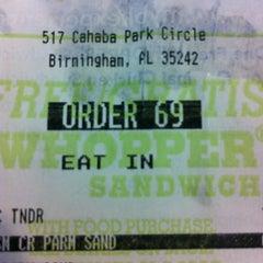 Photo taken at Burger King® by Jeremy E. on 9/4/2012