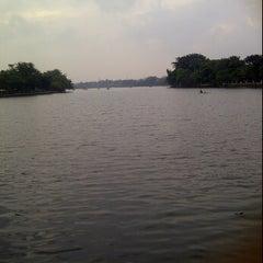 Photo taken at Kampung betawi situ babakan by Diana A. on 1/21/2012
