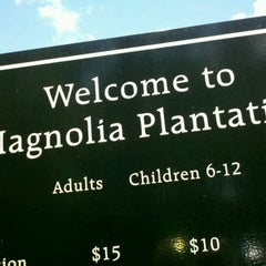 Photo taken at Magnolia Plantation & Gardens by Nick L. on 8/21/2011