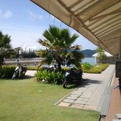 Photo taken at Marina Island Jetty Complex by Syahira R. on 1/23/2012