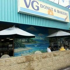 Photo taken at V.G. Donut & Bakery by Becca S. on 11/12/2011