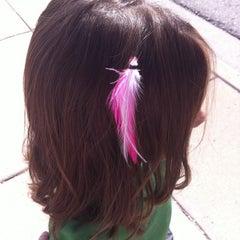 Photo taken at DYE Salon by Sarah M. on 8/29/2011