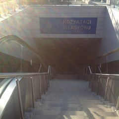 Photo taken at Kozyatağı Metro İstasyonu by Ferhan K. on 8/29/2012