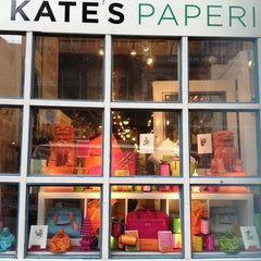 Photo taken at Kate's Paperie by nika on 5/21/2012