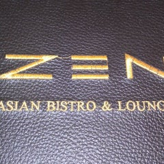 Photo taken at ZEN Asian Bistro by Shane on 6/13/2012