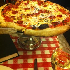 Photo taken at Lombardi's Coal Oven Pizza by Alisa on 5/26/2012