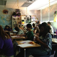 Photo taken at RHS Mr. Abbs English IV by Zachary P. on 4/17/2012