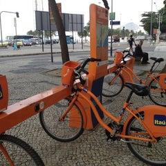 Photo taken at BikeRio - Estação 05 by Andres F. on 7/30/2012