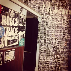 Photo taken at Rough Trade East by Sophie R. on 3/12/2012