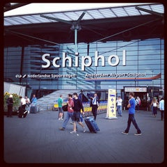 Photo taken at Amsterdam Airport Schiphol (AMS) by 26893454 on 9/8/2012