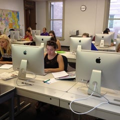 Photo taken at Johnston Hall by Tim C. on 8/28/2012