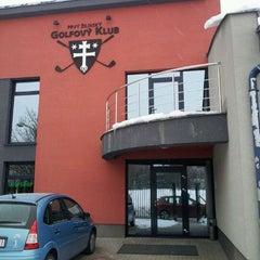 Photo taken at Prvý Žilinský Golfový Klub by Simon on 2/4/2012