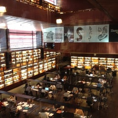 Photo taken at Biblioteca Museo Reina Sofía - Edificio Nouvel by katsuhiko m. on 6/13/2012