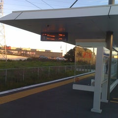 Photo taken at Onehunga Train Station by Wilvarin on 6/14/2012