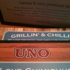 Photo taken at Uno Pizzeria & Grill - Tilton by Stacie H. on 8/3/2012