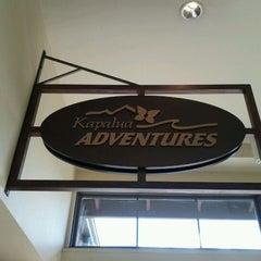 Photo taken at Kapalua Adventure Center by Ben L. on 10/17/2011